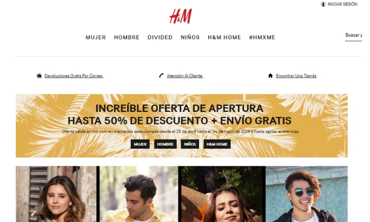 bd87e8eb1c6a70 H&M México: opiniones, análisis y valoración | Marketing 4 Ecommerce ...