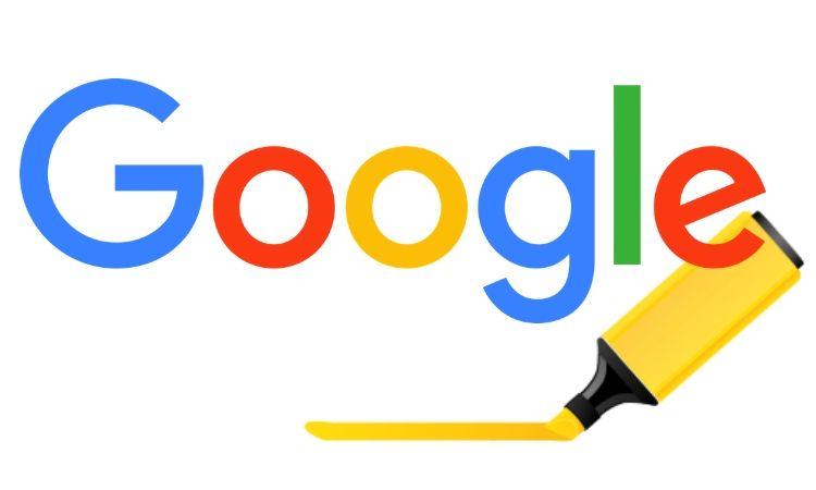 Google subrayará tus búsquedas en las webs que te ofrezca como resultado