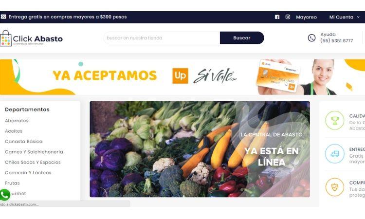 ClickAbasto: opiniones, comentarios y valoración