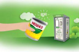 Esta campaña de Herdez te permite pagar Netflix con latas recicladas y salvar el planeta