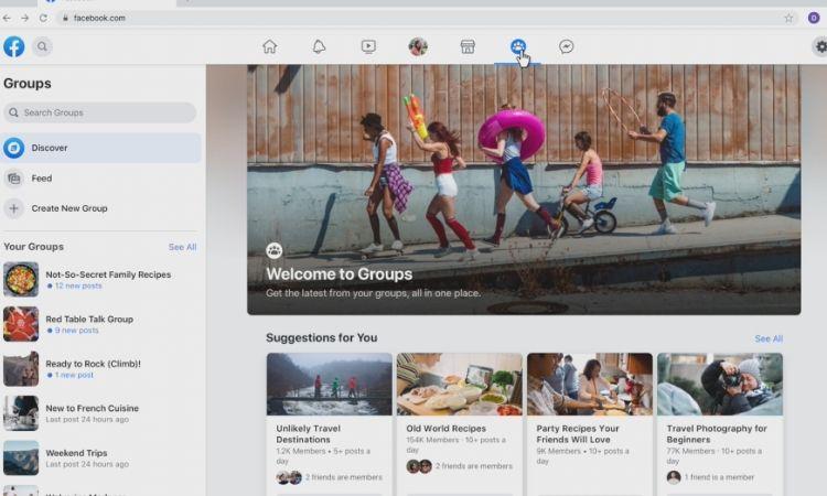 Facebook lanza un nuevo diseño más sencillo que apuesta definitivamente por los grupos