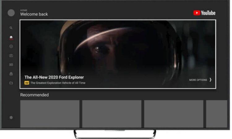 YouTube lleva a las Smart TV los masthead ads, su formato de anuncio más espectacular