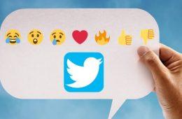 Las reacciones con emojis llegan a los mensajes directos de Twitter
