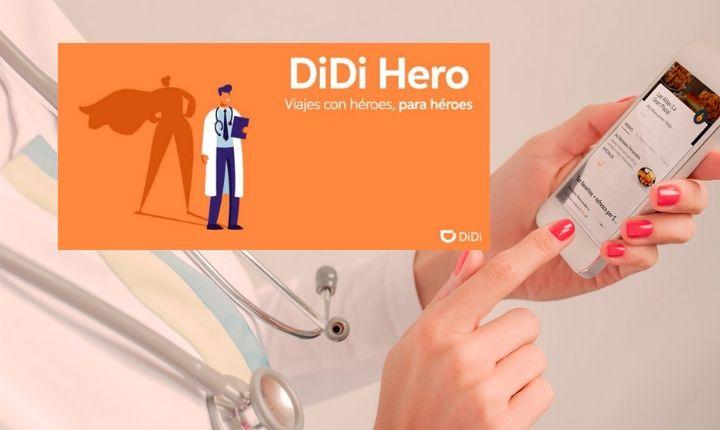 DiDi Hero: La iniciativa que regala viajes y comida a personal médico durante el Covid19 en México
