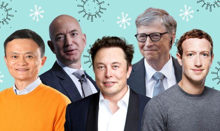 Zuckerberg, Musk, Bezos, Gates, Ma: así se enfrentan los grandes gurús digitales al coronavirus