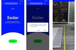 Google lanza Sodar, una herramienta de realidad aumentada con la que medir los dos metros de distancia social