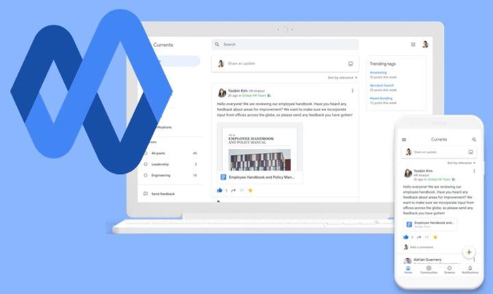 Google Currents: Google + se convierte en herramienta de comunicación interna para competir con Slack y Microsoft Teams