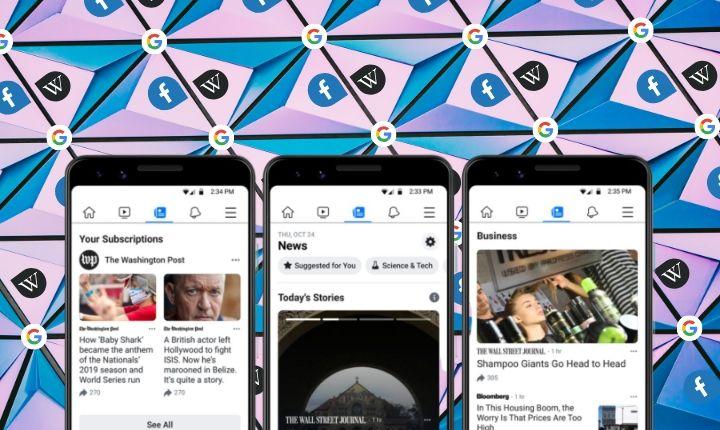 Facebook News y fichas de la Wikipedia: la red social se fija en Google para su siguiente evolución