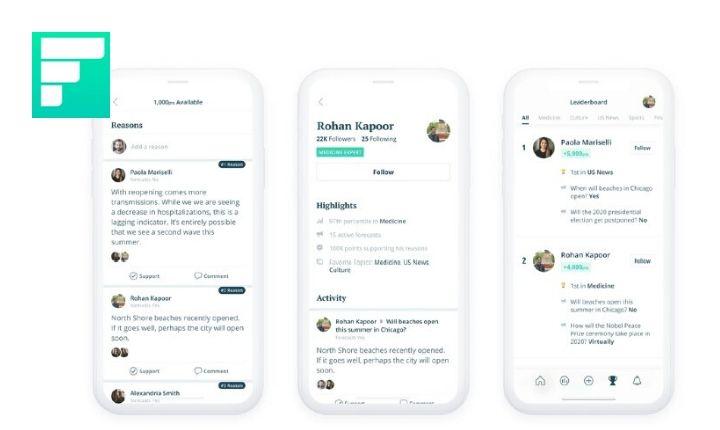 Forecast, la nueva aplicación de Facebook que sirve para realizar predicciones y debates