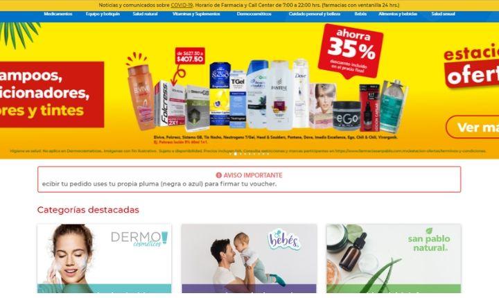 Farmacias San Pablo: opiniones, comentarios y valoración