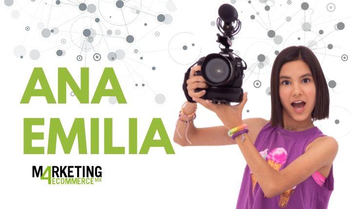 """Ana Emilia (TV Ana Emilia): """"Siempre puedes ser lo que tú quieras ser y YouTube es una maravillosa plataforma para expresarlo"""""""