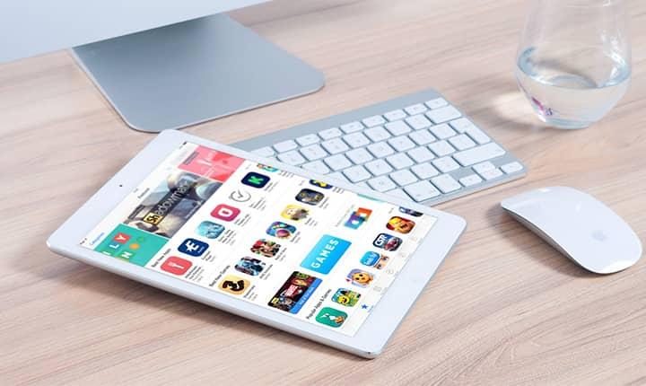 Publicidad de apps de compras