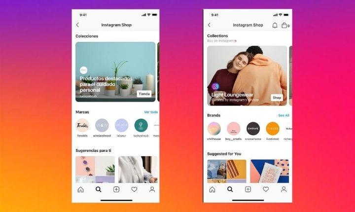 Llega Instagram Shop, un nuevo lugar donde descubrir y comprar sin salir de la app