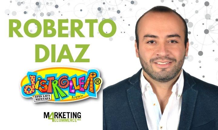 """Roberto Díaz (Distroller): """"Sumando Amazon a nuestra estrategia de ventas online hemos logrado un crecimiento a triple dígito"""""""