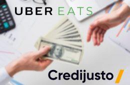 Uber Eats y Credijusto