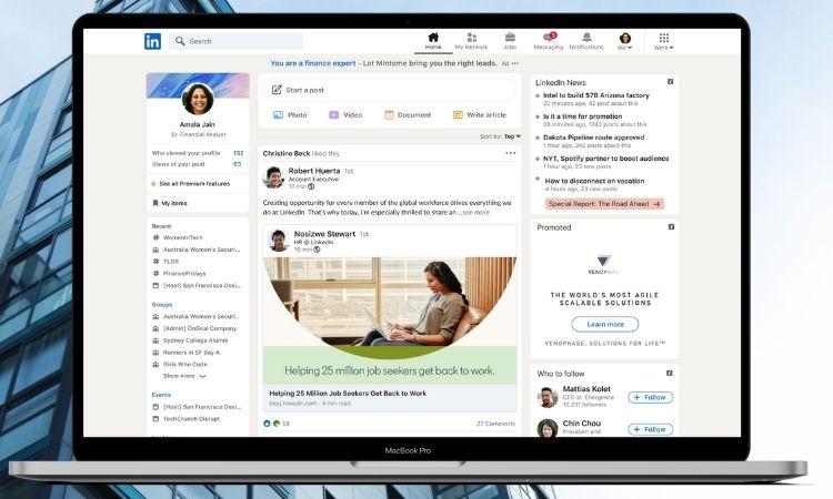 Así es el rediseño más ambicioso de LinkedIn: nueva apariencia, videollamadas y sus esperadas stories