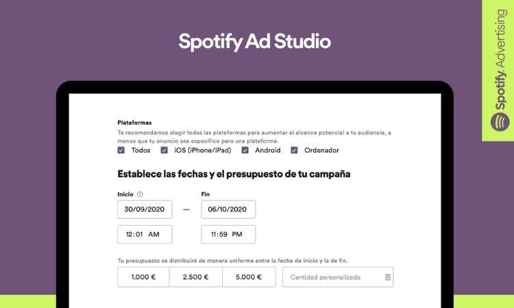 Spotify lanza Ad Studio en México, su plataforma publicitaria autoservicio