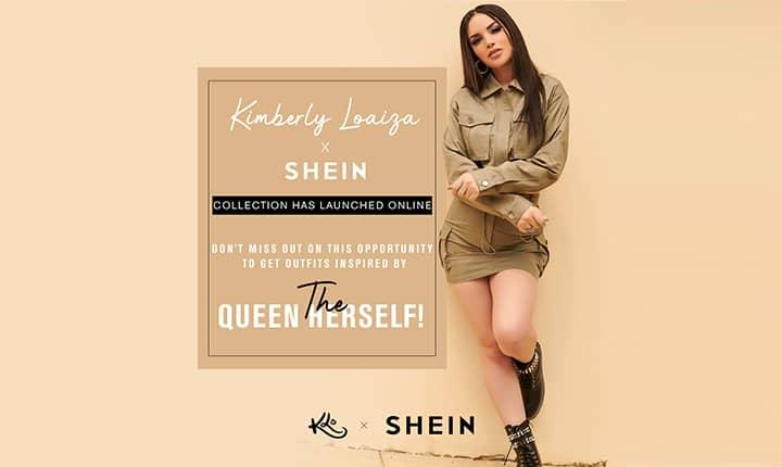 Kimberly Loaiza y Shein