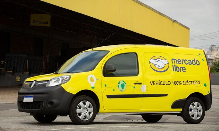 vehículos eléctricos de Mercado Libre