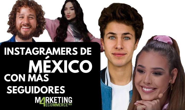 Top 10: los instagramers con más seguidores en Mëxico