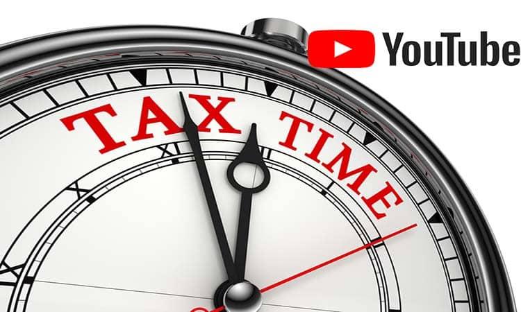 YouTube retendrá hasta un 24% de los ingresos de los youtubers si no actualizan su información fiscal