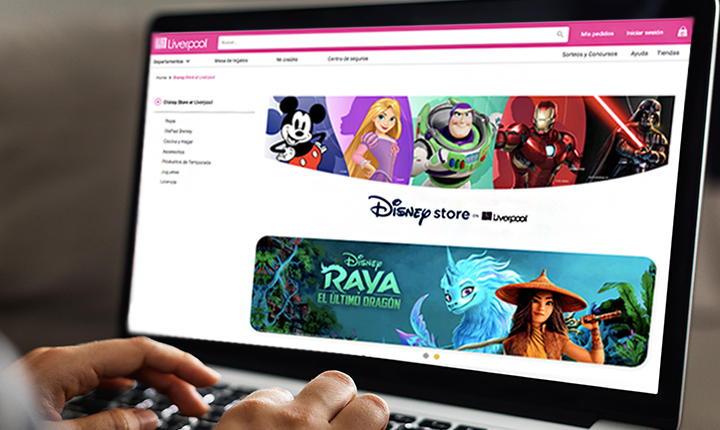 Disney shop in shop