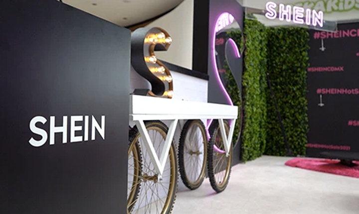 Tienda física de Shein