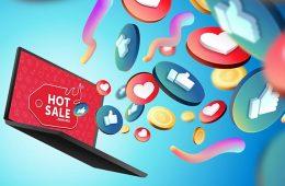redes sociales durante el Hot Sale 2021
