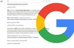 Google limitará a dos el número de preguntas frecuentes que aparecen en los resultados de búsqueda