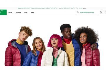 Benetton online.