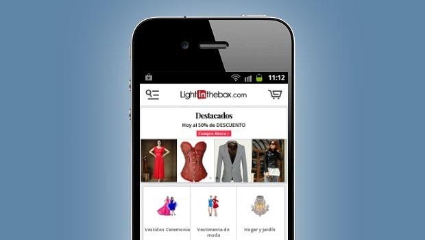 App Light in the box opiniones Lightinthebox