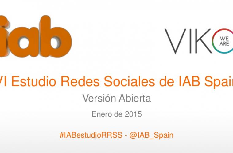 viko e IAB estudio redes sociales