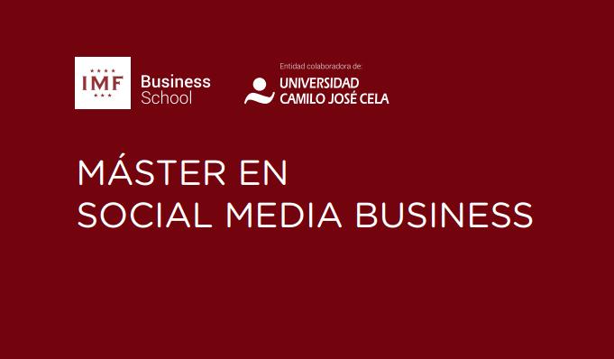 Máster Online en Social Media Business IMF