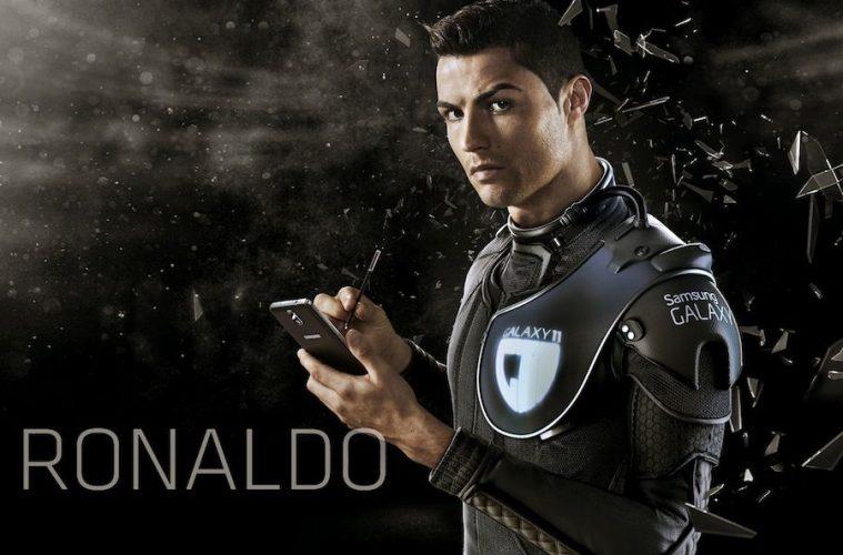 tweet patrocinado en el Twitter de Cristiano Ronaldo