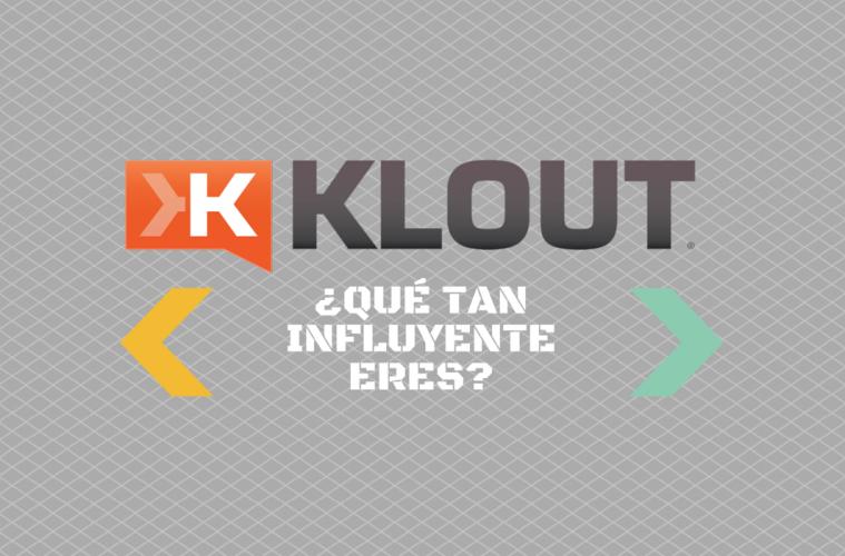 La app Klout, el referente para tu influencia social media