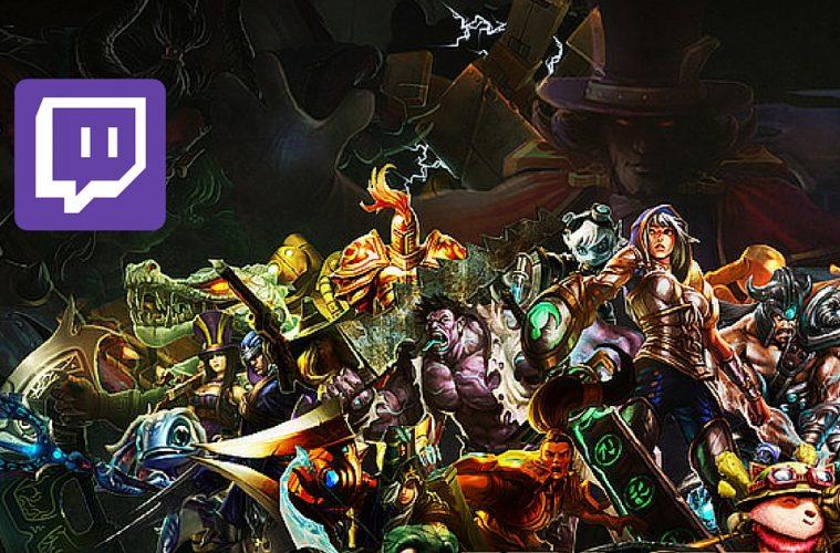 Twitch League of Legends, cenit de la transmisión de eSports