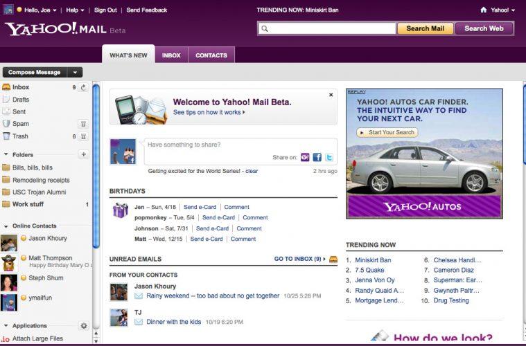 Correo Yahoo impide el acceso a usuarios con bloqueadores de anuncios