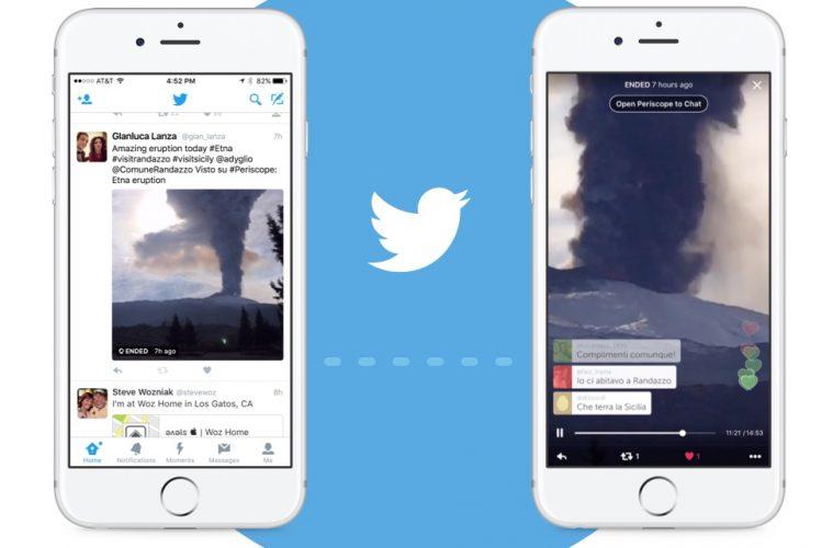 app de vídeo streaming Periscope