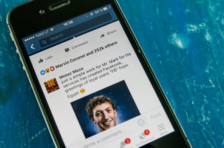 Cambios en la industria de los contenidos en Facebook: Facebook permitirá a los editores y celebridades compartir contenido patrocinado