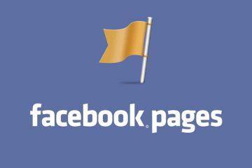 plantilla de facebook page