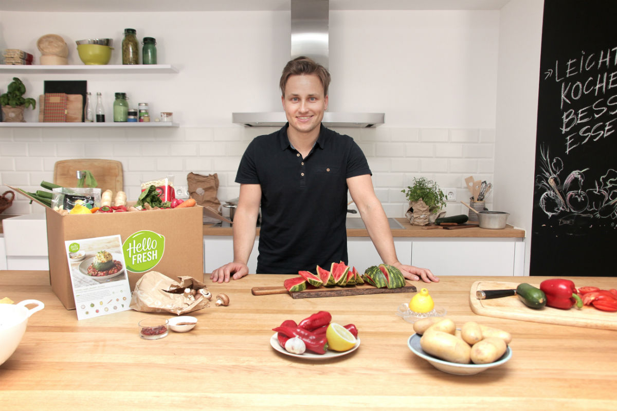 CEO de HelloFresh Dominik Richter