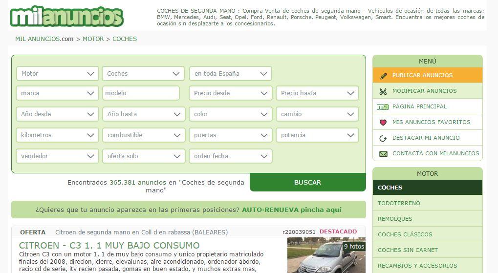 barato para la venta muchos estilos fábrica auténtica 5 webs para ayudarte a elegir tu coche online - Marketing4eCommerce