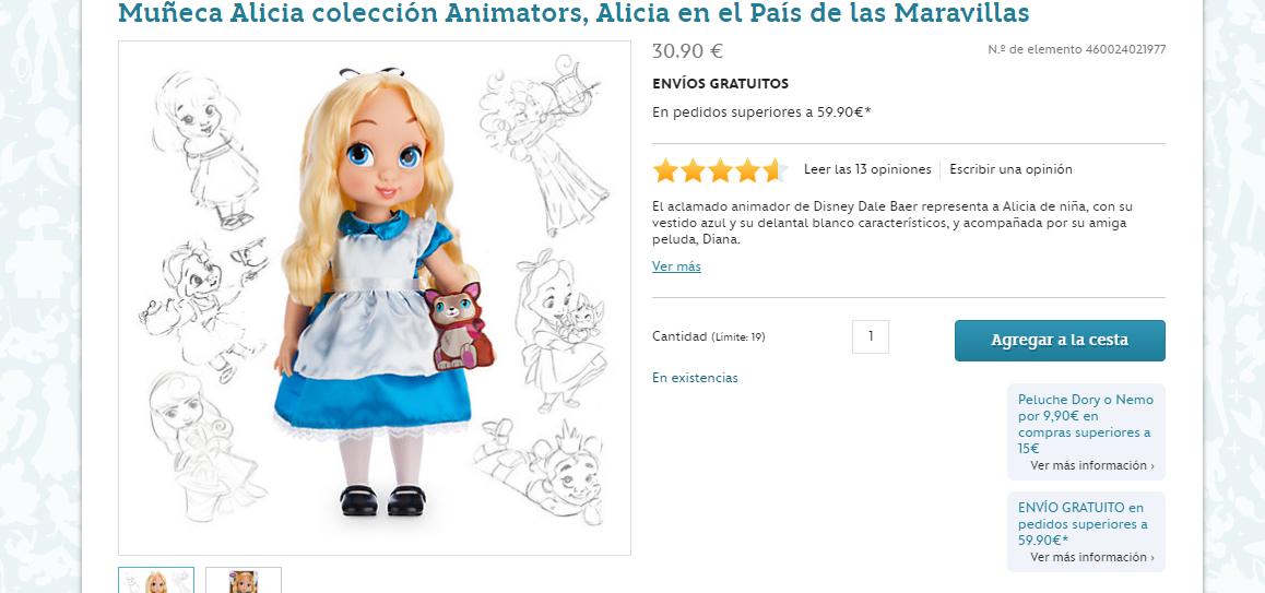 Disney store Alicia