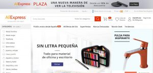 marketplaces españa Aliexpress