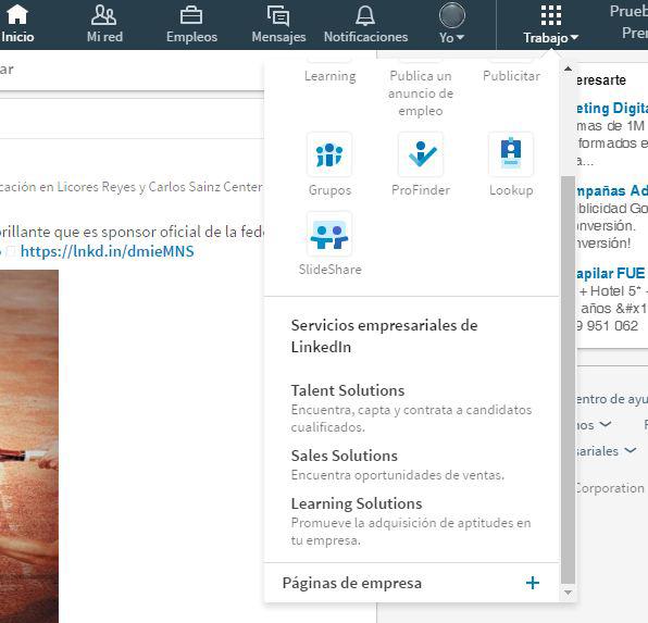 crear una página de empresa en Linkedin 2