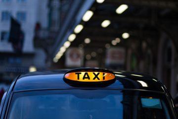 Paro y Manifestación de taxistas de Madrid