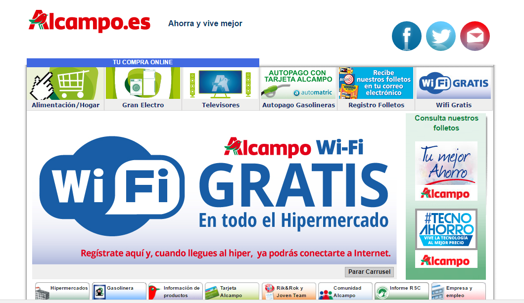 Wonderful Alcampo Online