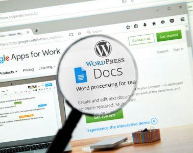 integracion wordpress y google docs