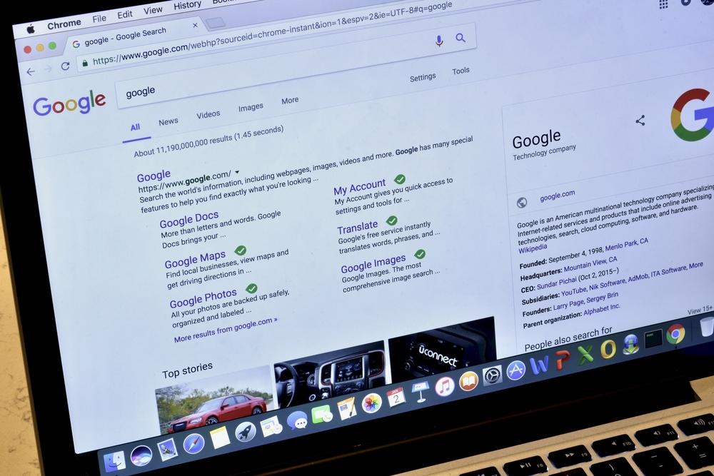 Etiquetas en los resultados del buscador de Google