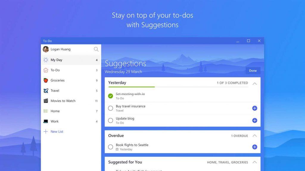 Microsoft cierra Wunderlist y lanza To-Do